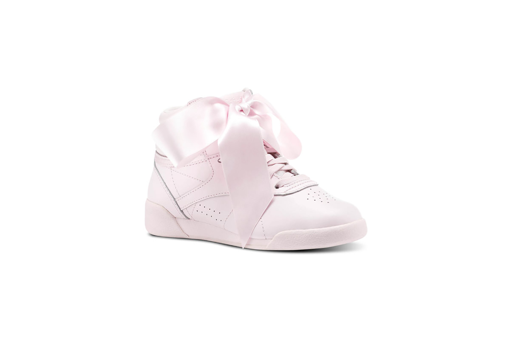 The Cutest Baby Pink Sneakers for Spring