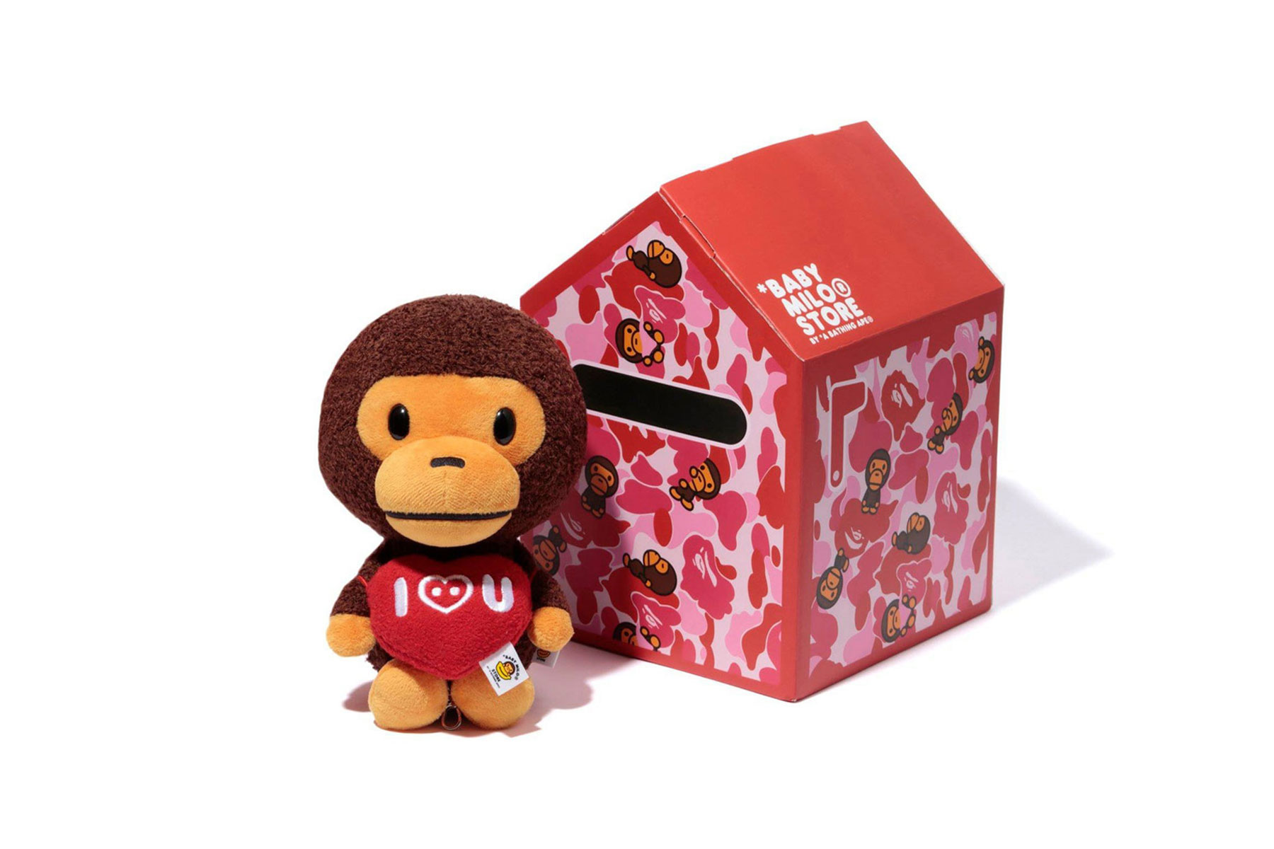 valentine's day gift guide kids toy edition supreme bape baby milo medicom hello kitty starbucks oeuf hersheys le sportsac very hungry catepillar medicom bearbricks